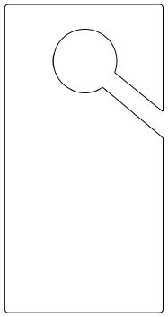 door hanger template