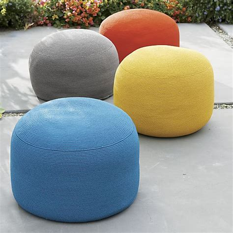 outdoor poufs and 43 best images about ottomans and cubes chairs on
