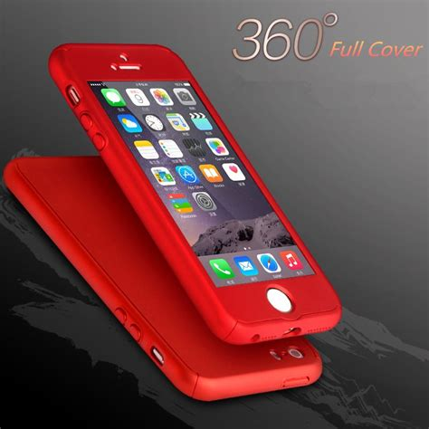 New Slim Silicone Iphone 6 6s Terseida Untuk Iphone 6 6s 6s 1 i6s 6plus 360 degree protective for iphone 5 5s se 6 6s plus phone bags for iphone