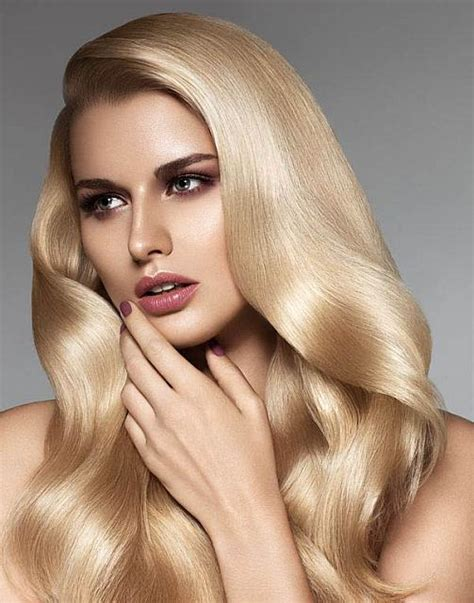 gorgeous long blonde hair brushed blonde hair the latest trends in women s