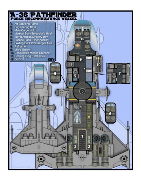 spaceship floor plans 234 best deckplans starship images on pinterest