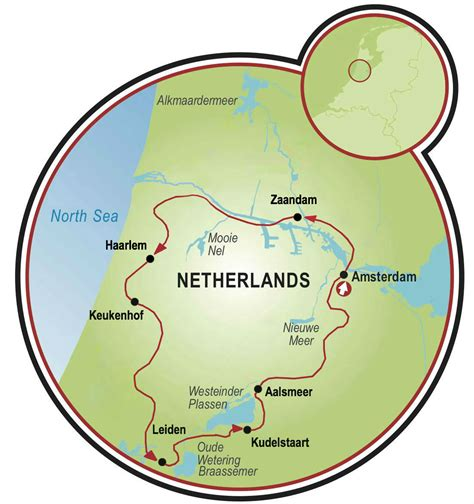 netherlands tulip fields map 5 day tulip bike and barge tour netherlands tripsite