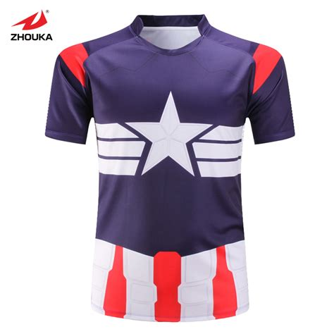 pattern rugby jersey full sublimation printing colorful pattern american