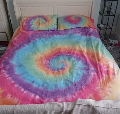 tye dye bedding rainbow tie dye bedding