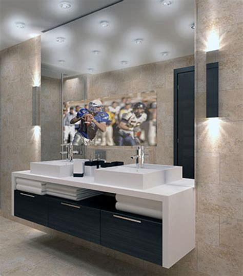 Mirror Bathroom Tv by Television Shop Framed Frameless Mirror Tv