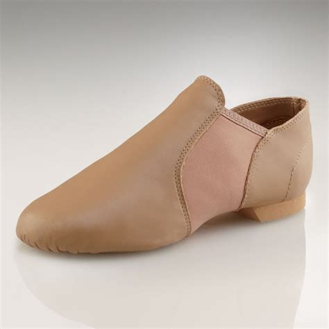 capezio e series jazz slip on jazz shoes caramel