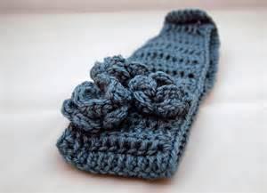 pdf crochet pattern headband ear warmer by helloseptemberprops