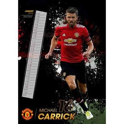 Calendario Manchester United Calend 225 2018 Manchester United Em Europosters Pt