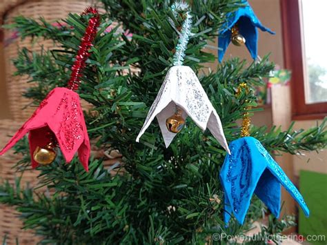 making christmas bell ornaments easy crafts that anyone can make happiness is
