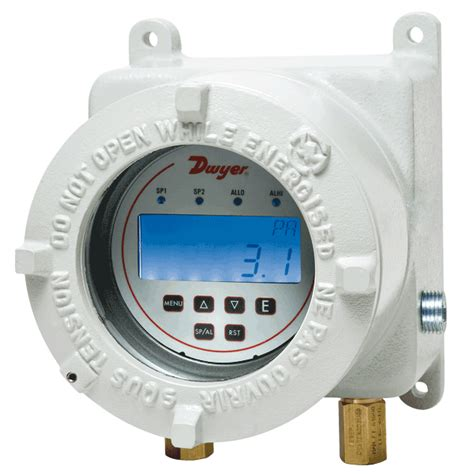 Pressure Switch Pressure Pro Instrument series at2dh3 atex approved dh3 differential pressure controller is a 3 in 1 instrument