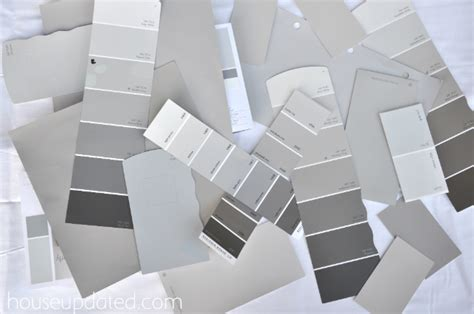Paint Colors For Kitchen With Dark Cabinets by Picking The Perfect Gray Paint House Updated