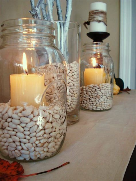 Vase Fillers For Wedding Centerpieces by Vase Filler For Entry Way Table With Candles And