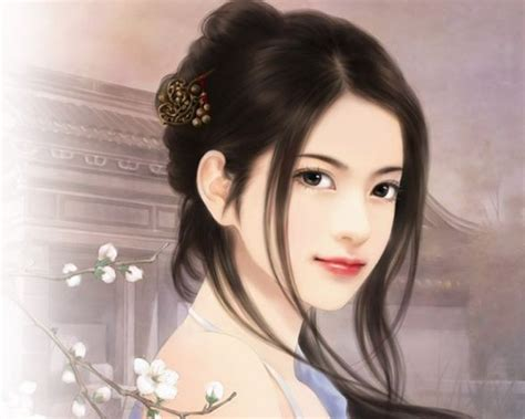 anime chinese girl wallpaper anime magazines chinese girl paintings 14
