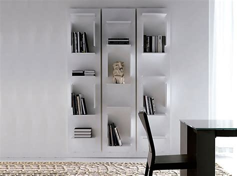 Vertical Bookcase Fifty Modern Bookcase By Cattelan Italia