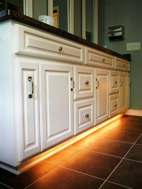 bathroom night light ideas best 25 under cabinet lighting ideas on pinterest