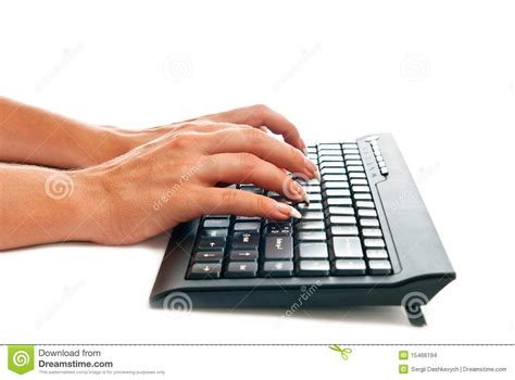 free stock photo hands over keyboard keyboard and hands stock photo image of action internet