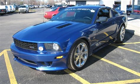 blue saleen mustang vista blue 2007 saleen s281 sc ford mustang coupe