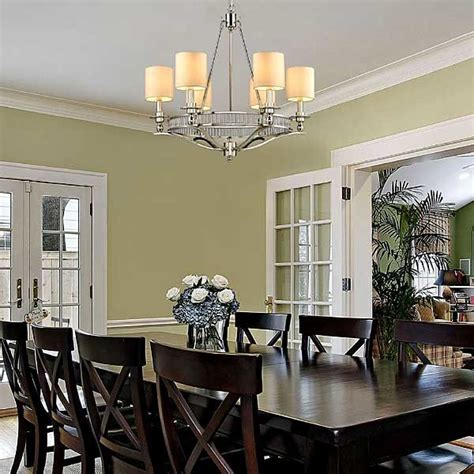 chandelier traditional dining room