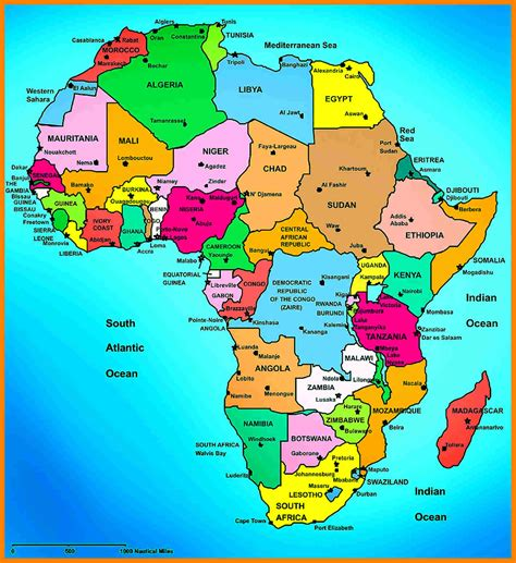 africa map just countries 7 africa map countries coaching resume