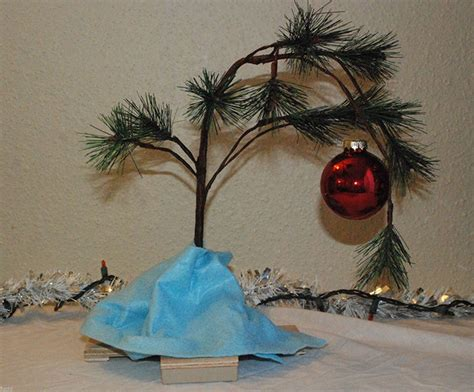 diy charlie brown christmas tree ebay