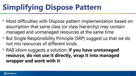 repository pattern dispose dispose pattern in c презентация онлайн