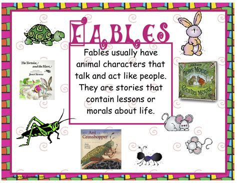 printable children s fables poety on pinterest poetry anchor chart poetry and poems