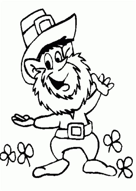 leprechaun coloring pages to print get this free leprechaun coloring pages to print 590f16