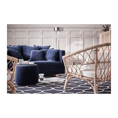 puff sofa ikea stockholm 2017 pouffe sandbacka dark blue 50x50 cm ikea