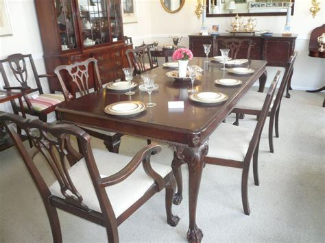 Chippendale Dining Room Set Our Collection Of Vintage Furniture Includes This Chippendale Dining Room Set With 6 Chairs From