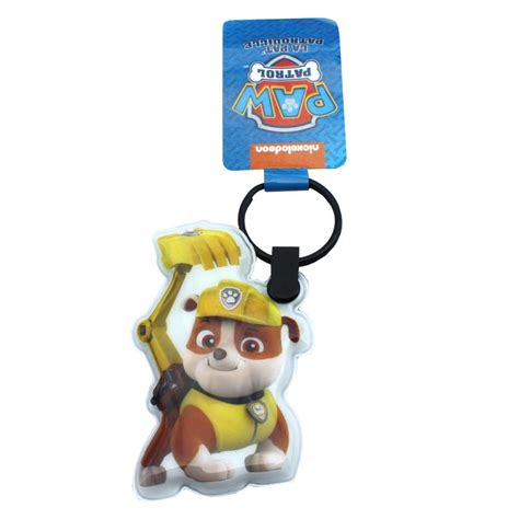 paw patrol light up scooter paw patrol rubble led light up keyring 6950687216178 3