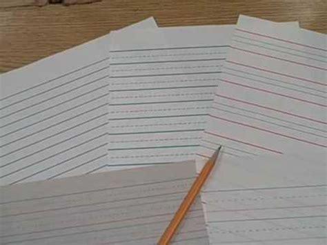 raised writing paper raised line paper
