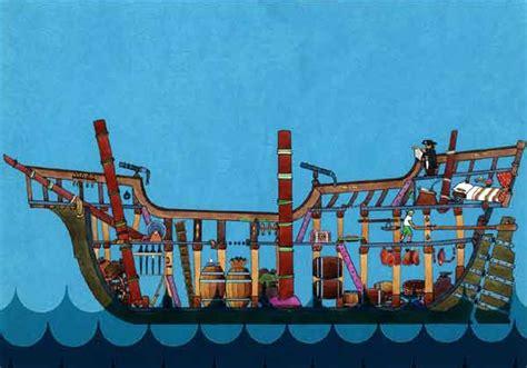 barco pirata lorencillo los piratas