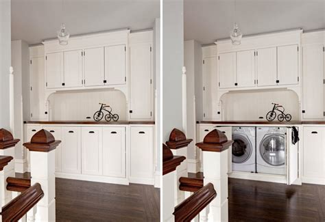 concealed washer and dryer concealed washer dryer laundry rooms