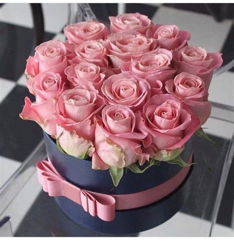 A Box Pink Multicolor Admiration Happiness Preserved Flower http weheartit entry 223085598