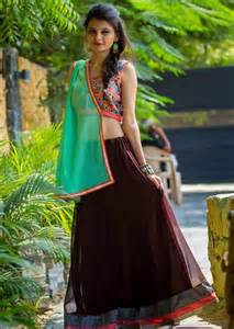 Unseen navratri chaniya choli designs from local stores looksgud in