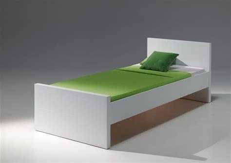Einzelbetten Weiß 90x200 by Einzelbetten