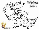 Delphox Pokimon X and Y Colouring