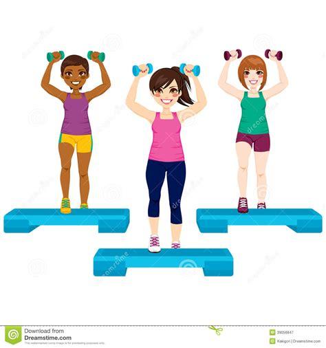 imagenes de fitness step group exercise clip art 101 clip art