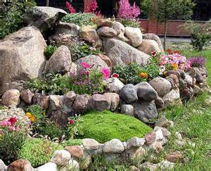 Life short home landscaping with rocks details