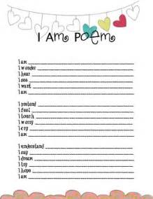 i am poem worksheet davezan