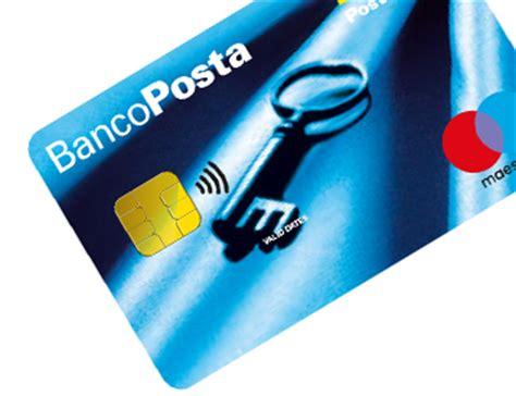www banco posta carte prepagate e ricaricabili con iban bancoposta