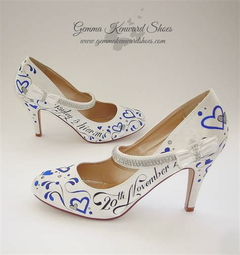 Wedding Shoes Janes by High Heel Wedding Shoes