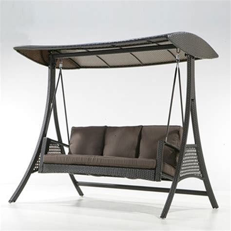 new outdoor swinging bench sofa swing zero gravity