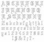 Old English Lettering Fonts Tattoo Design  Tattoobitecom