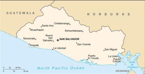 printable area traduccion map of el salvador terrain area and outline maps of el