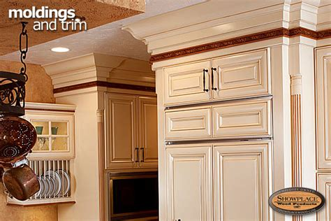 cabinets showplace moldings and trim
