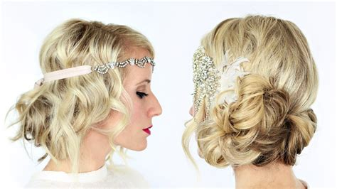 do it yourself hairstyles gatsby you tube 2 gorgeous gatsby inspired hairstyles youtube
