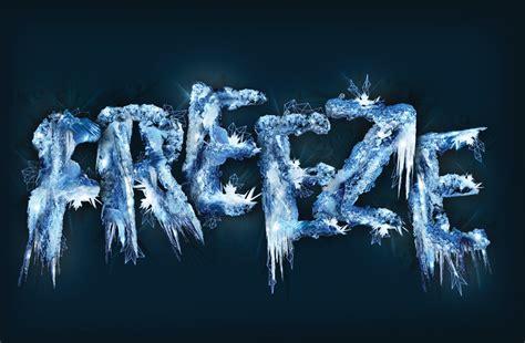 design freeze photoshop tutorial design thematic type part 1