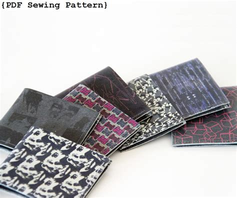 pattern for leather wallet men wallet sewing pattern leather wallet pattern diy