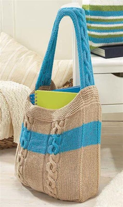 free knitted tote bag patterns free cable tote bag knitting pattern leather travel bags